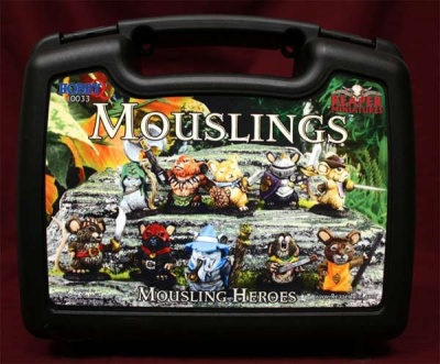 Mousling Heroes Box Set (10 Mouse Guard Figures)