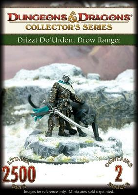 D&D: Drizzt Do'Urden, Drow Ranger (2)