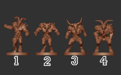 Lord Of Corruption - Beastman Pack (4)
