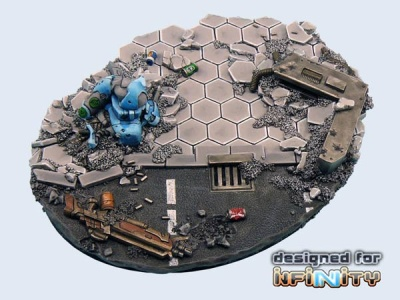Urban Fight Bases, Ellipse 120mm  (1)