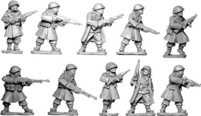 US Infantry In Greatcoats Section II