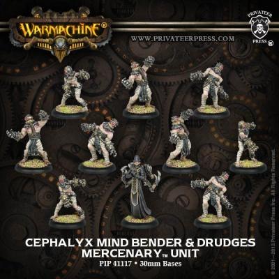 Mercenary Cephalyx Mind Bender & Drudges Unit (10)