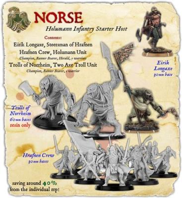 Norse Holumann Infantry Starter Host