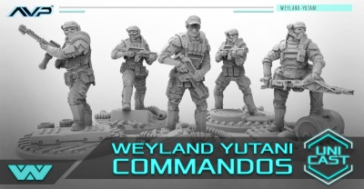 AVP Weyland Yutani Commandos UniCast