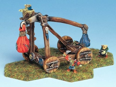 Large Goblin Catapult with Crew