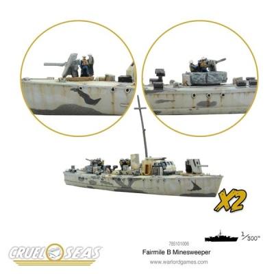 Cruel Seas: Fairmile B Minesweeper