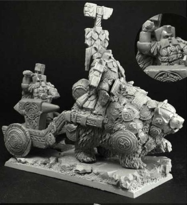 Dwarven Chariot with Anvil