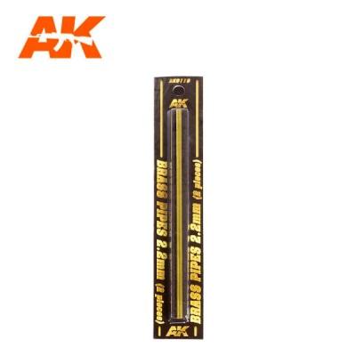 Messingrohre 2,2mm (2)