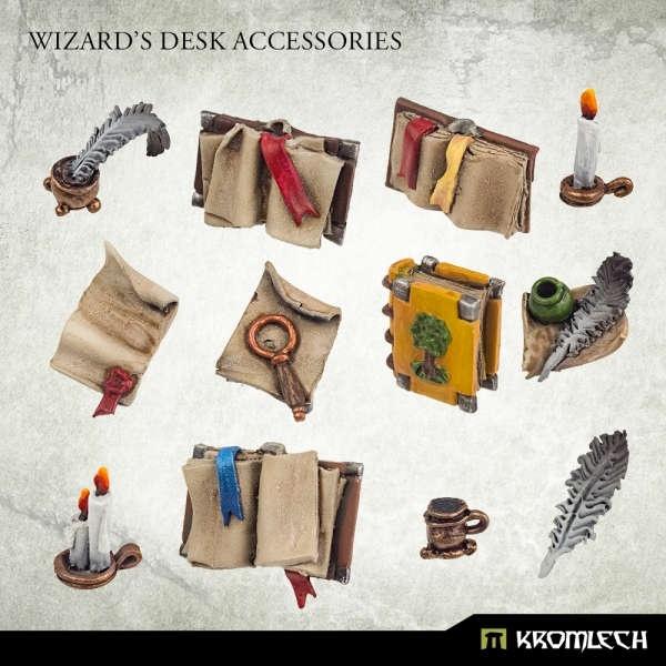 Wizard's Desk Accessories