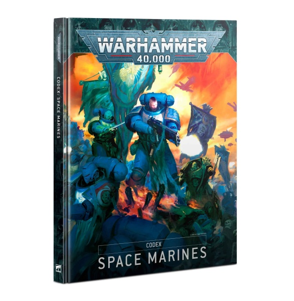 Warhammer-40.000-Codex: Space Marines 2019