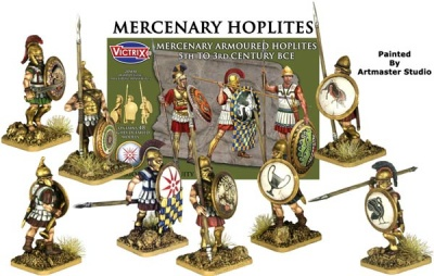 Mercenary Armoured Hoplites( 5th-3rd BCE)