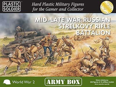 15mm: Mid/Late War Russian Strelkovy Rifle Battalion Box