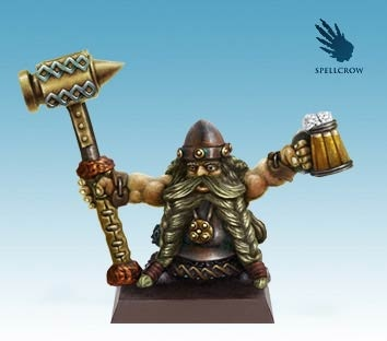 Dwarf with Mug