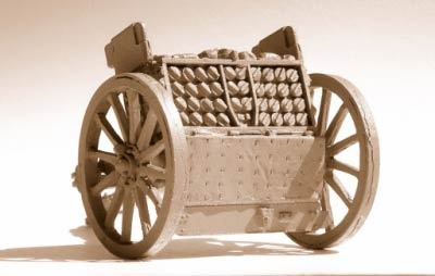 British Ammunition wagon