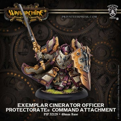 Protectorate Exemplar Cinerator Officer Command Attachment