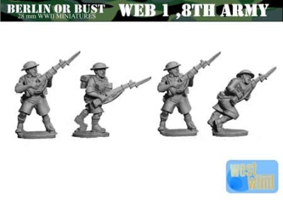 8th Army British Rifles