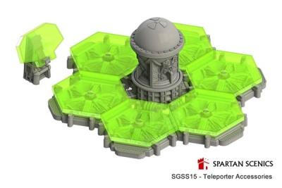 Spartan Scenics Teleporter Accessories