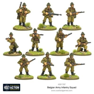 Belgian Infantry Squad (10)