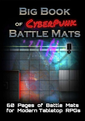 Big Book of Cyberpunk Battle Mats (A4)
