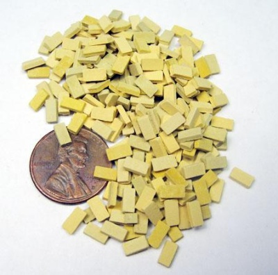 1:48 Ceramic Bricks - Tan Mix (30ml)