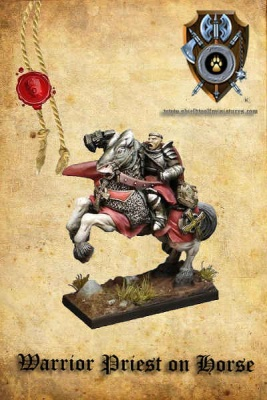 Warrior Priest/General on horse (dual kit)