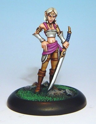 SiRene - Female Elf Warrior