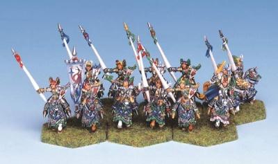 High Elf Heavy Cavalry (12)