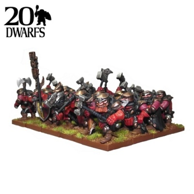 Dwarf Shieldbreaker Regiment (20)