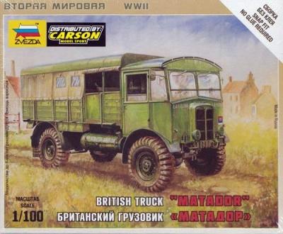 "1:100 Wargame AddOn: British Truck ""Matador"""