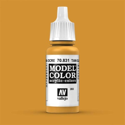 Model Color 203 Lasurocker (Tan Glaze) (831)