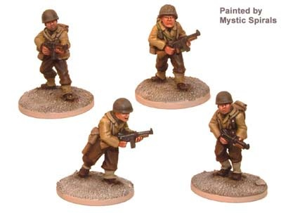 US Infantry BAR Teams (4 figs)