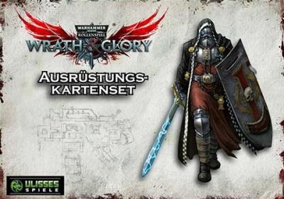 WH40K Wrath & Glory - Gefechtsausrüstung Kartenset