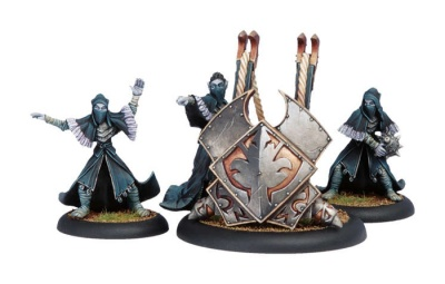 Legion of Everblight Scather Weapon Crew