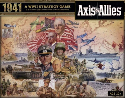 Axis & Allies 1941 engl.