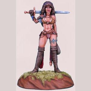 Journey to the Gathering - Female Warrior