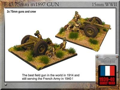 75mm m1897 (2x)