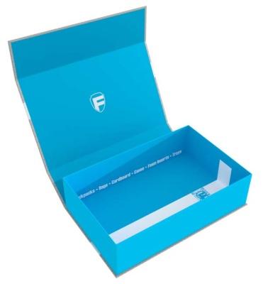 Feldherr Magnetbox half-size 75 mm blau leer