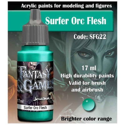Scalecolor Fantasy 22 Surfer Orc Flesh (17ml)