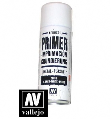 Vallejo Primer Premium White Grundierspray (400ml)