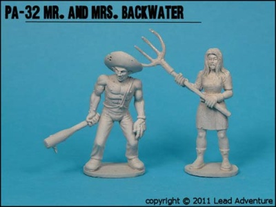 Mr. And Mrs. Backwater (2) (OOP)