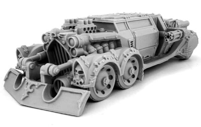 Heresy Hunter Razor Blade Car w Assualt Module
