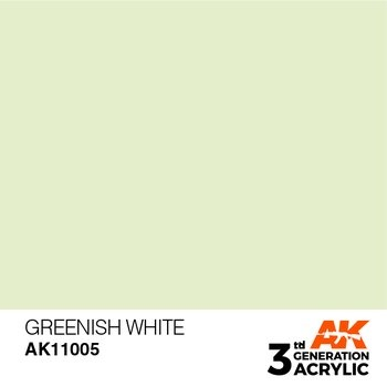 Greenish White 17ml