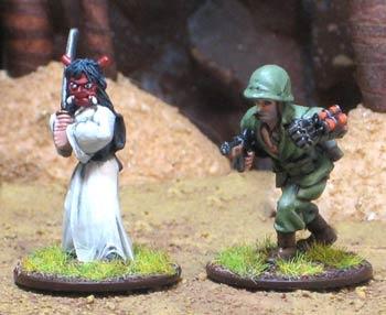 Sgt. Grant vs. The Oni