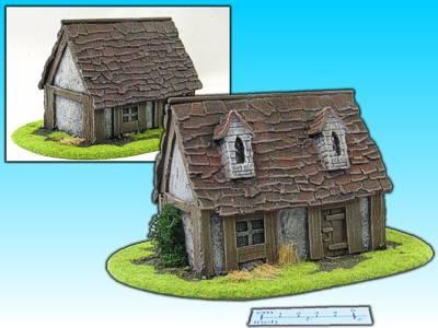 Geländestück Bauernhaus