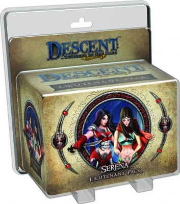 Descent Road to Legend Miniatures: Serena