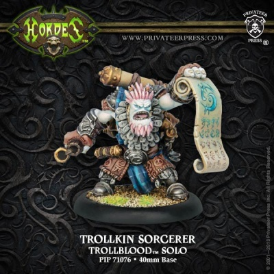 Trollblood Trollkin Sorcerer Solo