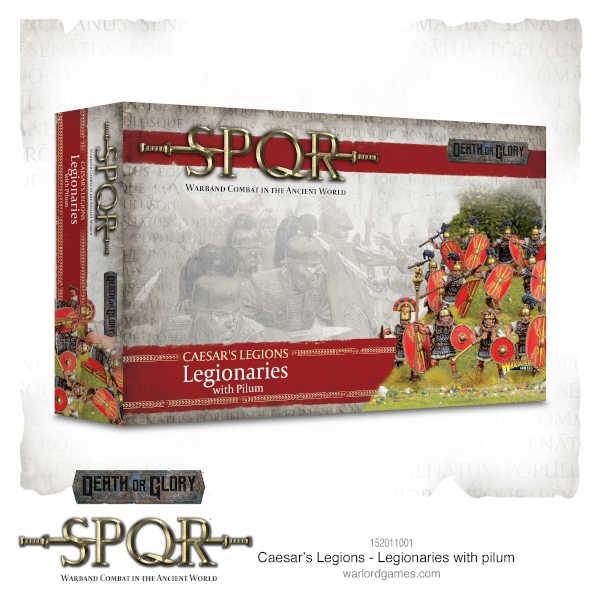 Caesars Legions - Legionaries with Pilum