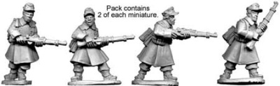 German Riflemen in Greatcoats (4)
