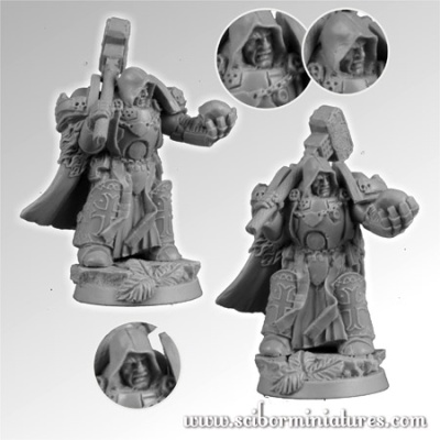 28mm Templar SF Knight #7