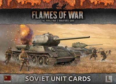 Soviet Unit Cards (Late War)